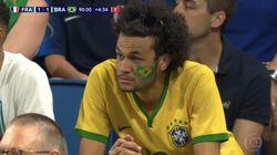 Ce sosie de Neymar n'est pas passé inaperçu pendant