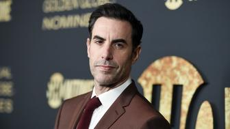 Sacha Baron Cohen attends the 2019 Showtime Golden Globe Nominees Celebration at Sunset Tower Hotel on Saturday, Jan. 5, 2019, in West Hollywood, Calif. (Photo by Richard Shotwell/Invision/AP)