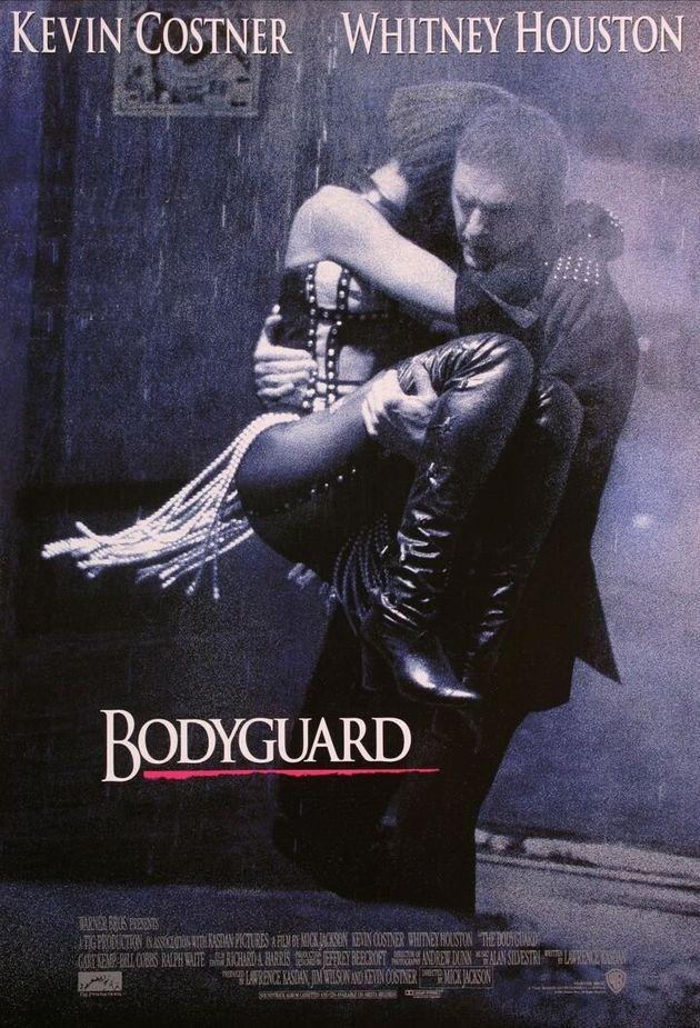 영화 '보디가드' 포스터의 비밀이 27년 만에