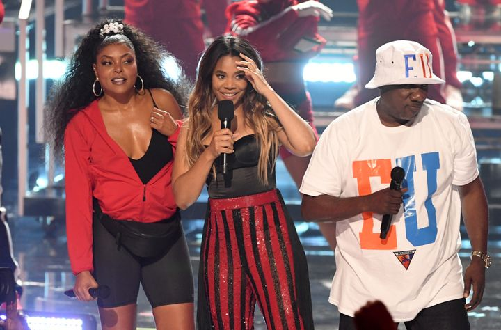 Regina Hall's BET Awards Opener Was A Beyoncé-Inspired Go-Go Tribute To D.C.