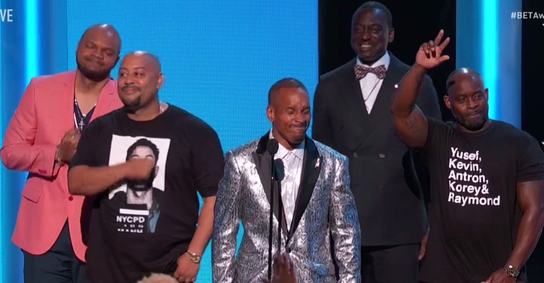 Exonerated Central Park Five Receive Standing Ovation At 2019 BET Awards