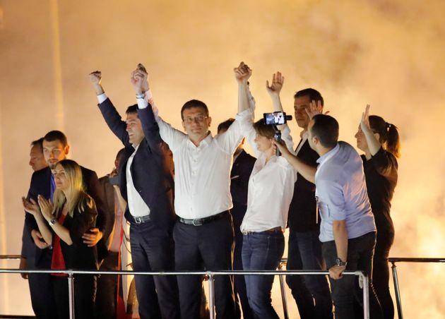 이스탄불 시장 재선거에서 야당이