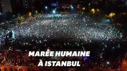 Scènes de liesse à Istanbul après la défaite