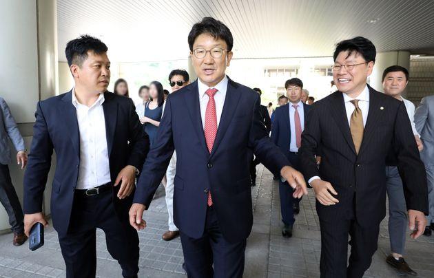 '강원랜드 채용비리' 권성동 자유한국당 의원에 무죄가