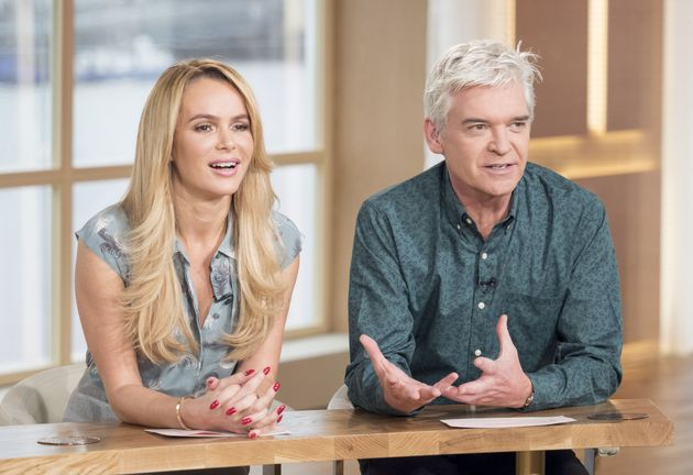 Phillip Schofield Says Amanda Holden Feud Reports Are 'Hurtful And Wildly Untrue'