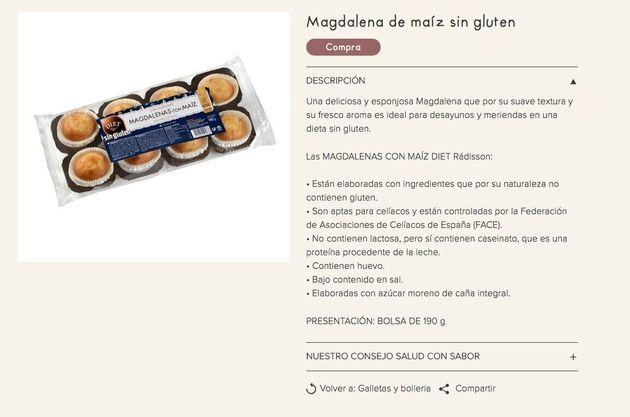 Sanidad lanza una alerta sobre esta marca de magdalenas que se vende en toda