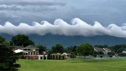 Un raro fenomeno ha trasformato il cielo della Virginia nella