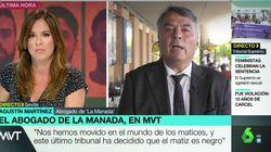 Mamen Mendizábal desmonta al abogado de La Manada con tres simples