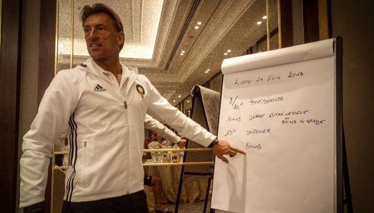 """Pour Hervé Renard, le match contre la Namibie a été """"très"""