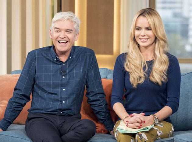 Amanda Holden Proves Her Feud With Phillip Schofield Is Still Not Over With Cheeky Interview Dig