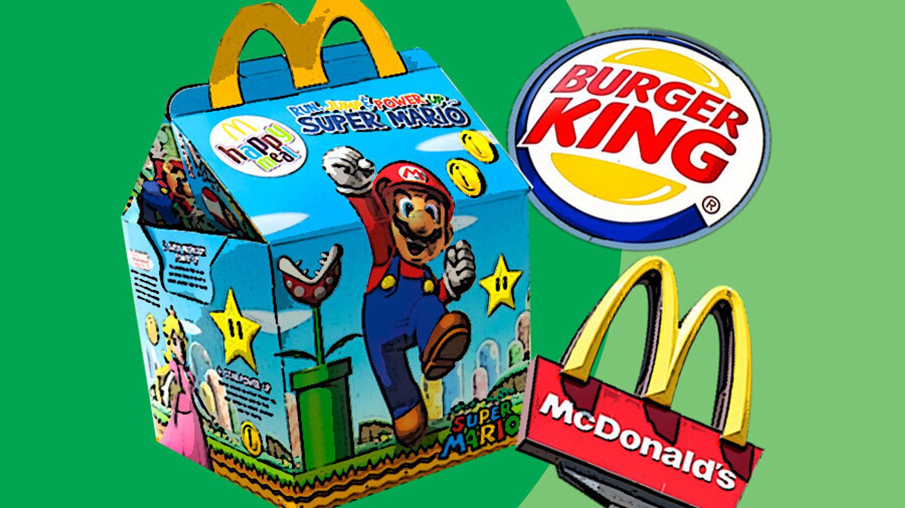 Pint-Sized Campaigners Want McDonald's And Burger King To