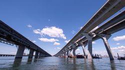 Le pont Samuel-De Champlain maintenant ouvert en direction