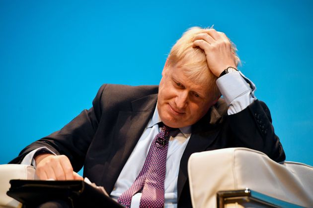 Boris Johnson at a leadership hustings in Birmingham on
