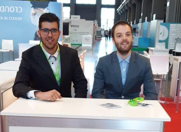 Jorge Plana (izquierda) y David García (derecha) en el evento del