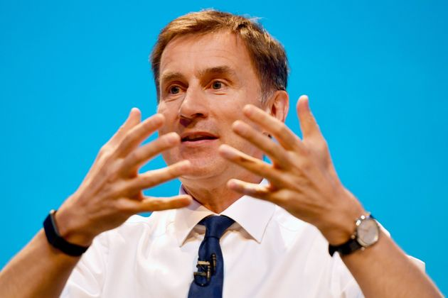 Jeremy Hunt Used Official Parliament Symbol In Tory Leadership Battle