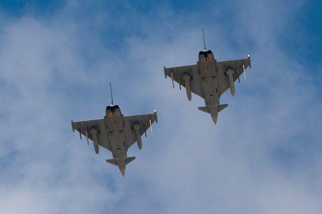 Συντριβή δύο μαχητικών Eurofighter στη Γερμανία - Νεκρός ο ένας