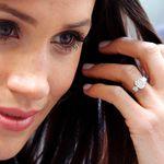 Meghan ridisegna l'anello di fidanzamento donatole da Harry. Lo definì