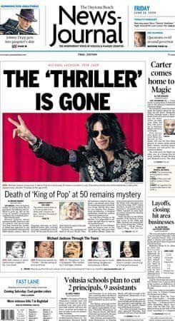 Le Daytona Beach News-Journal met l'accent sur les circonstances, alors encore mystérieuses, du...