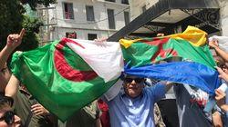 Drapeaux amazighes : solidarité citoyenne, et organisation de la défense des