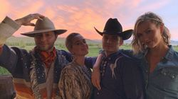 Karlie Kloss Goes Full Yeehaw For Second Wedding With Joshua