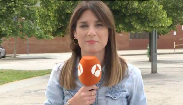La reportera de Antena 3 a la que insultó la presidenta de ANC se