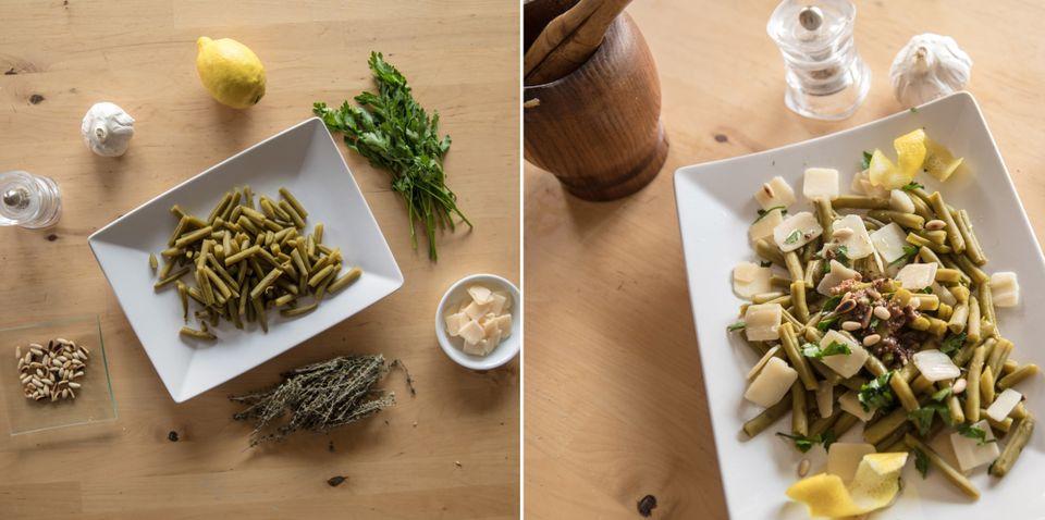 Recetas fáciles: ensalada de judías verdes con