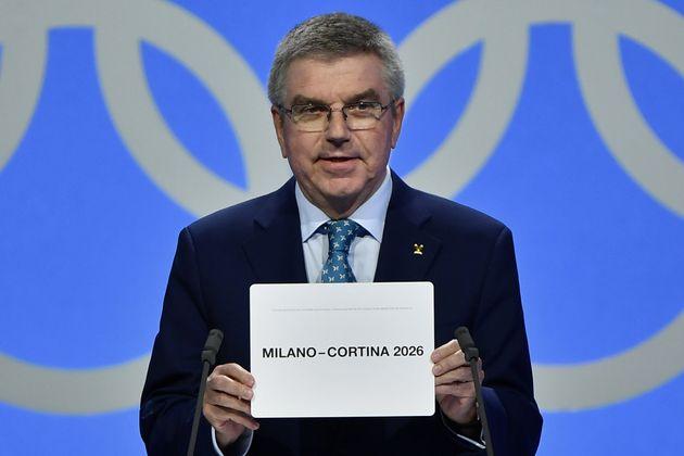Les Jeux olympiques d'hiver 2026 attribués à