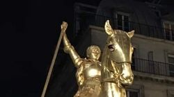 Non, la statue de Jeanne d'Arc place des Pyramides n'a pas été