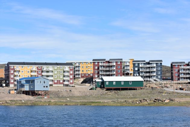 These government staff housing units in Iqaluit rarely have