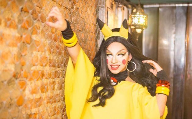 Amanda Sparks é drag representada por desenvolvedor José Henrique