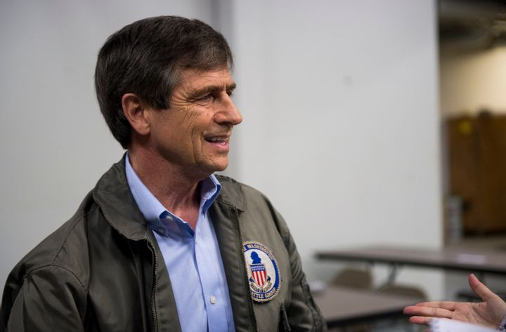 Joe Sestak served for roughly three decades in the Navy.