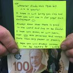 Nova Scotia Town Delighted By Mysterious $100 Bill And