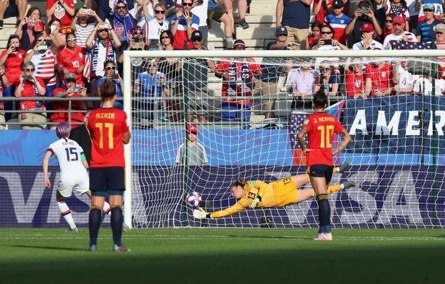 La selección española femenina, eliminada del Mundial tras perder 1-2 frente a