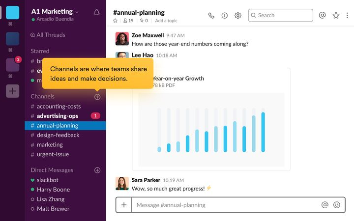 When you can send GIFs to your co-workers in team channels and direct messages, Slack can feel like a private chatroom — but it ultimately belongs to your boss.