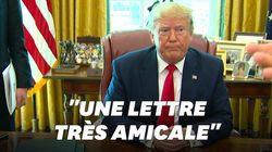 Trump révèle un détail insolite de la lettre envoyée par Kim Jong