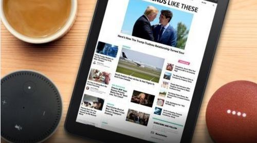 The HuffPost Canada Splash is available on Amazon Alexa and Google Home.