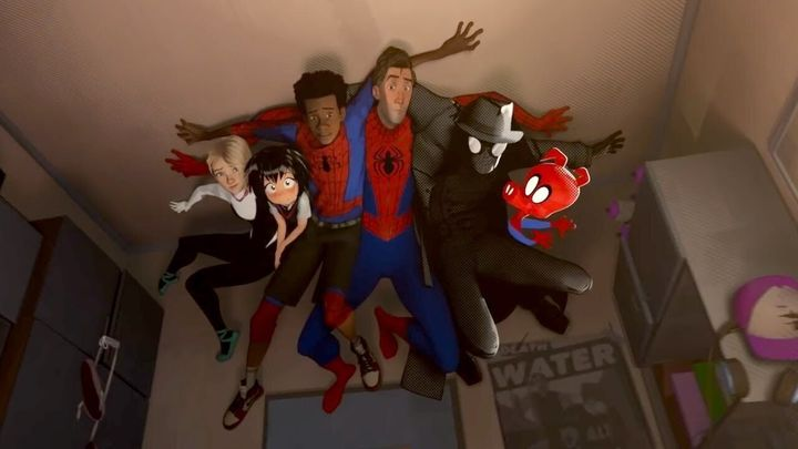 """Spider-Man: Into the Spider-Verse"" on Netflix."