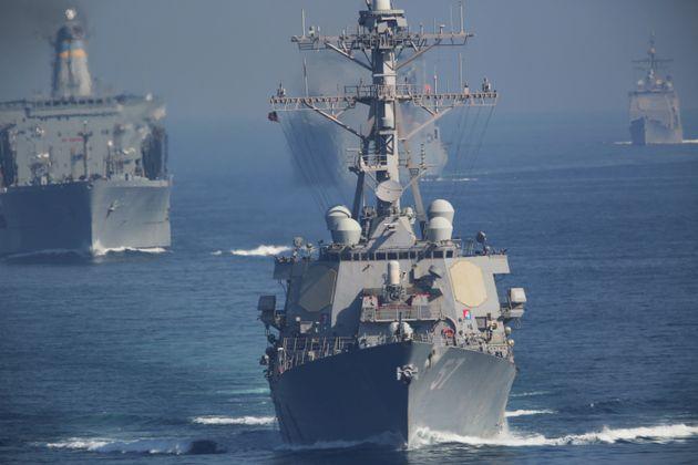 HΠΑ: Σχέδιο για διεθνή στρατιωτικό συνασπισμό ασφαλείας στα Στενά του