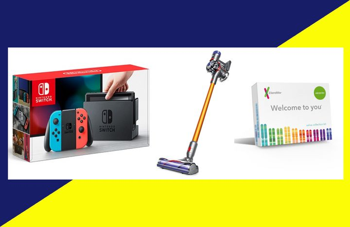 Top Amazon Prime Day deals from 2018 included items like Nintendo Switch accessories, Dyson vacuums, and the 23andMe DNA kit.