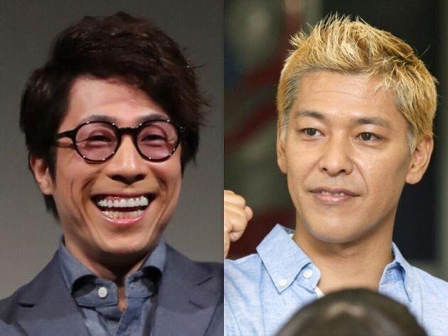 「ロンドンブーツ1号2号」の田村淳(左)と田村亮