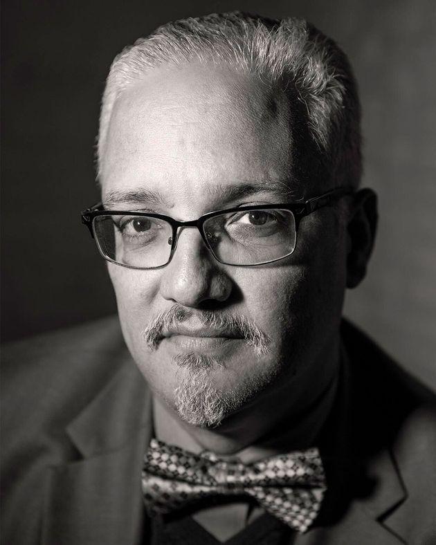 El escritor cubano Enrique del Risco, la primavera de 2019 en