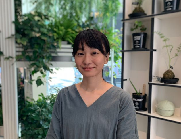 LUSHバイイングチームの黒澤千絵美さん