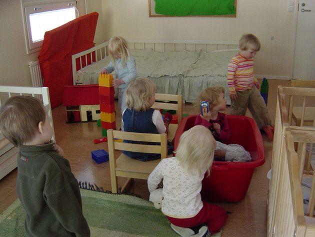 フィンランド語で保育園は「day