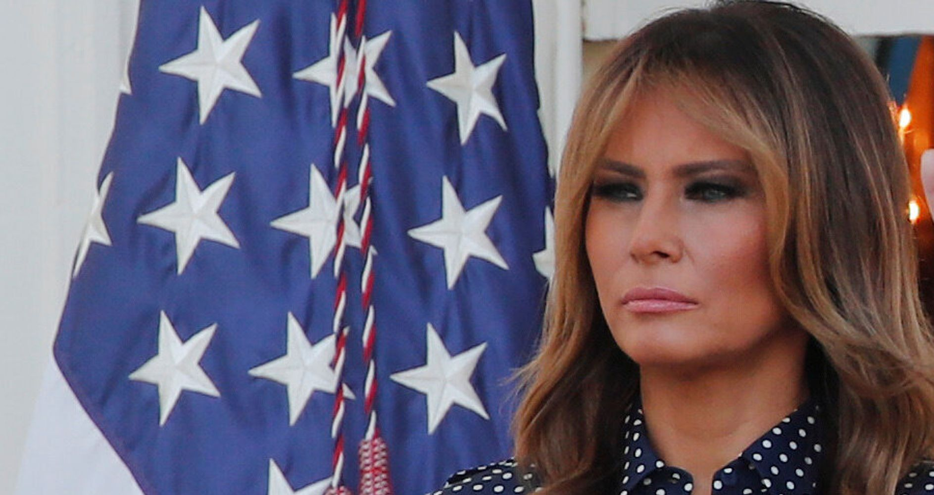 Melania Trump Boasts About Helping Children 'Everywhere.' Twitter Critics Let Her Have It. thumbnail