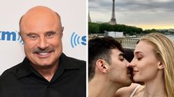 Dr. Phil Accidentally Revealed Sophie Turner And Joe Jonas' Wedding