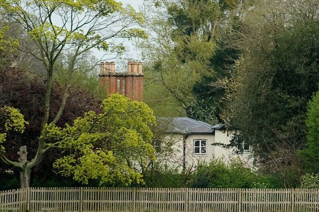 A general view of Frogmore Cottage at Frogmore Cottage on April 10, 2019 in Windsor,