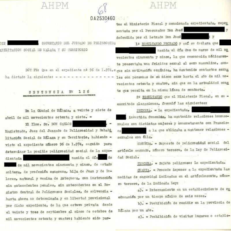 Denuncia de la Policía contra 'María' por su orientación