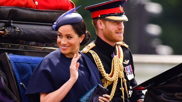 Meghan Markle et le Prince Harry, au mois de juin