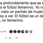 Una futbolista arrasa con su respuesta a este tuit: 10.000 'me gusta' en 12