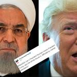 Le président iranien estime que Trump